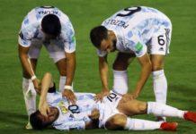 Argentine: grosse frayeur pour Messi après un horrible geste d'un joueur adverse