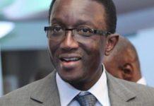 Amadou Ba à la mairie des Parcelles